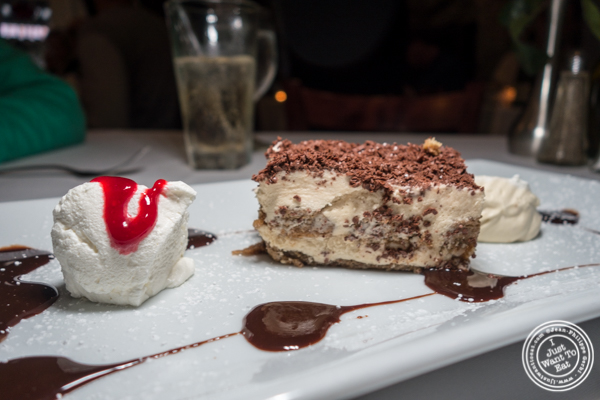 Tiramisu at Il Falco in Long Island City