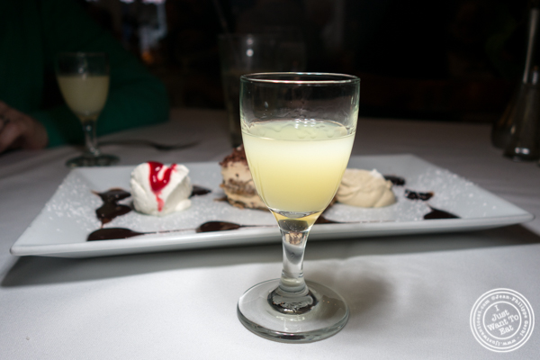 Limoncello at Il Falco in Long Island City