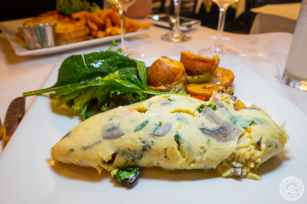 Omelet at Le Singe in NYC, NY