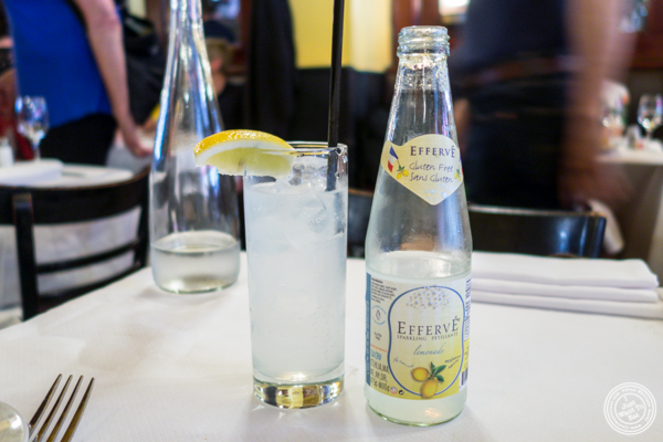 French lemonade at Le Singe in NYC, NY