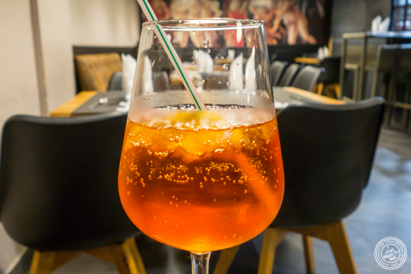 Spritz at La Factory Gangi in Grenoble, France