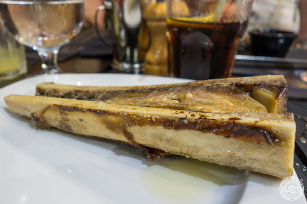 Bone marrow at Hippopotamus in Grenoble, France