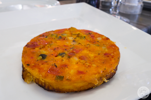 Vegetable tatin at Cuisine du Sud, Les Halles Paul Bocuse in Lyon, France