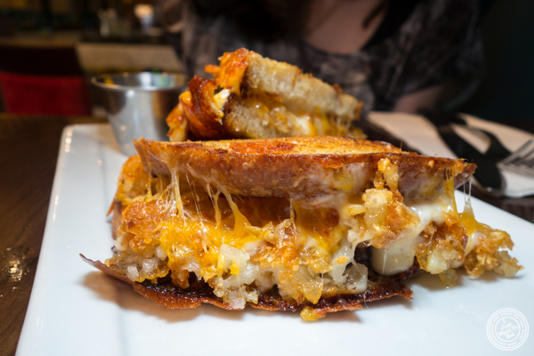 Tater tot melt at Juniper Bar in NYC, NY