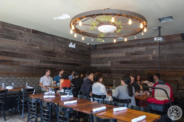 Dining room at The Vanderbilt in Brooklyn