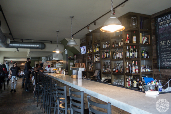 Bar at The Vanderbilt in Brooklyn