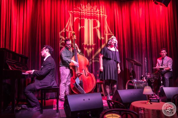 Jazz band at The Flatiron Room in NYC. NY