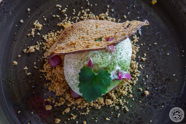 Cauliflower at La Corne D'Or in Corenc, France