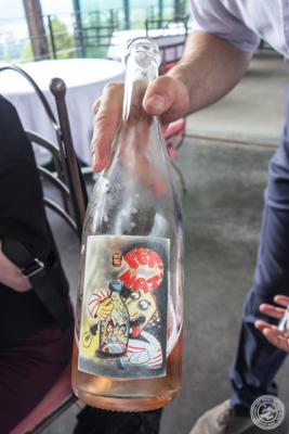 Pet' Nat' wine at La Corne D'Or in Corenc, France