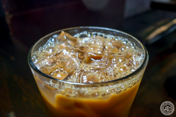 Vietnamese iced coffee at Cafe China in NYC, NY