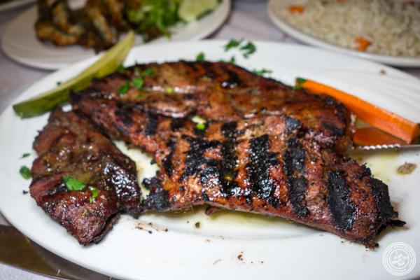 Calf liver at Stamatis in Astoria, Queens