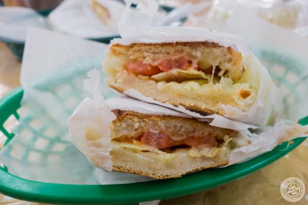 Queso sandwich at Cuba Bakery in Union City, NJ