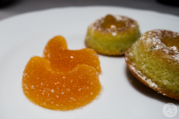 Fruit jellies at La Sirena in NYC, NY