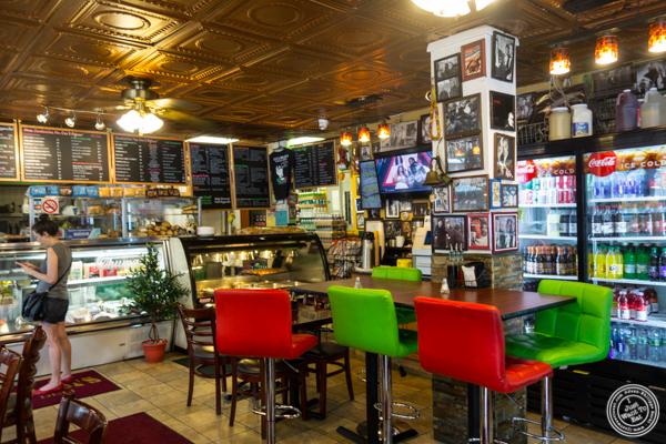 Dining room at Luca Brasi's in Hoboken, NJ