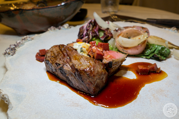 Beef tenderloin at Gabriel Kreuther in NYC, NY