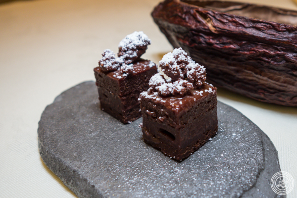 Brownies at Gabriel Kreuther in NYC, NY