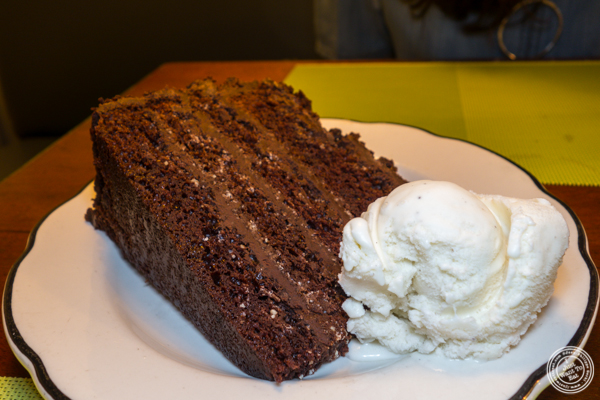 Coca Cola cake at Chat'n Chew in NYC, NY