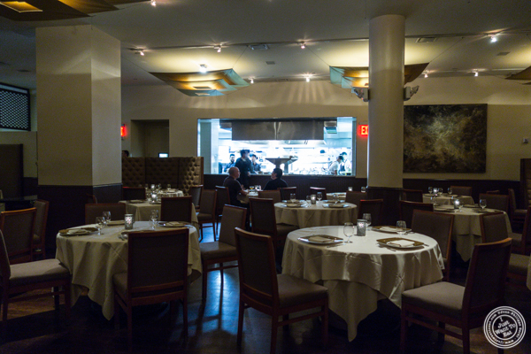Dining room at Junoon in NYC, NY