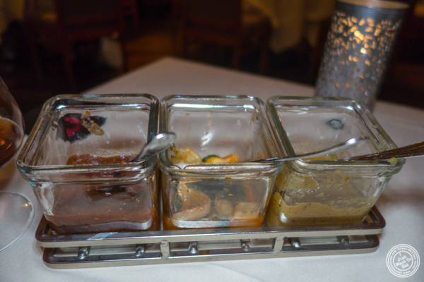 Chutneys at Junoon in NYC, NY