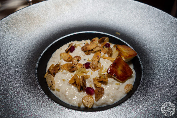 Rice pudding at Junoon in NYC, NY
