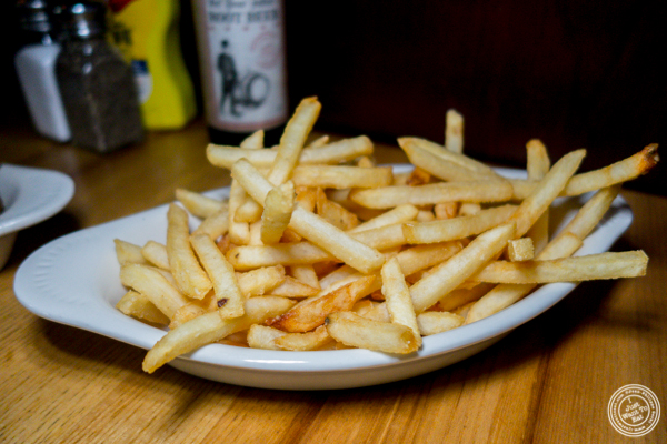 French fries at Corner Bistro in Long Island City