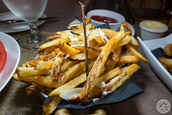 French fries at Greenwich Steakhouse in NYC, NY