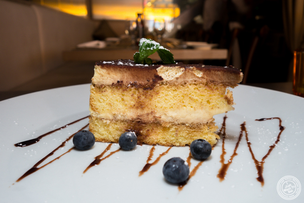Tiramisu at Greenwich Steakhouse in NYC, NY