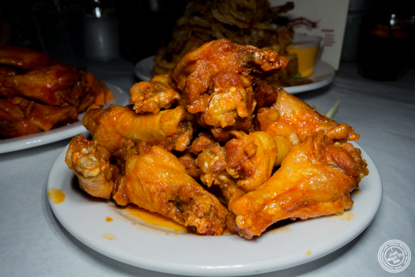 Medium wings at Blondie Sports on the Upper West Side
