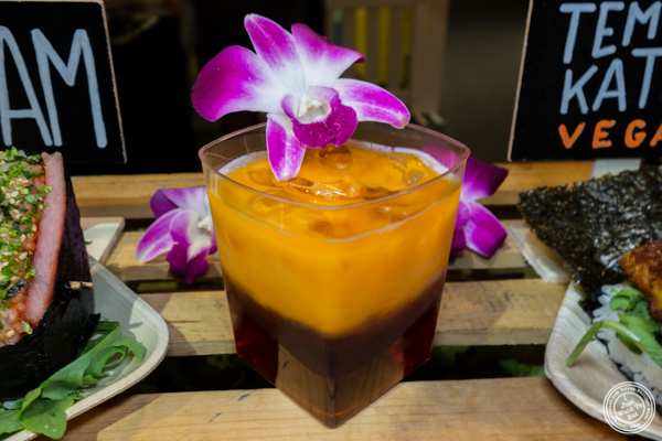 Thai iced tea from Eemas at LSC After Dark