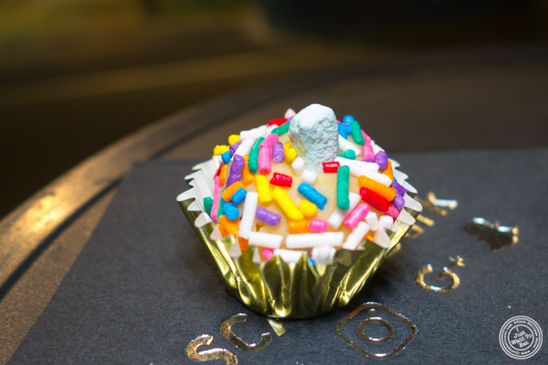 The unicorn from Pick a Bonbon at LSC After Dark