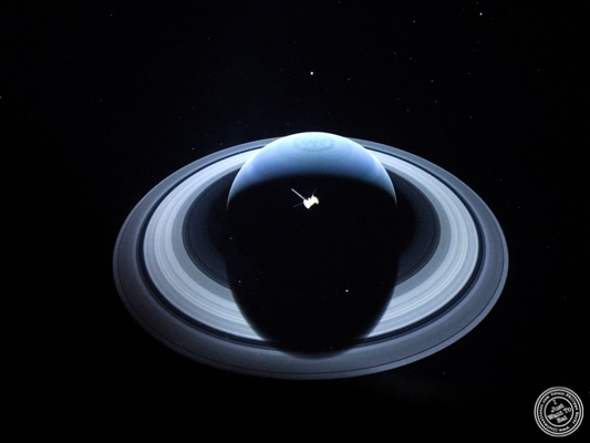 Saturn at The Liberty Science Center in Jersey City