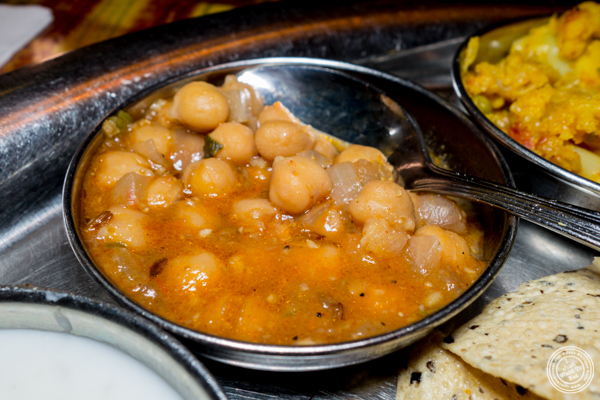 Chole at Vatan in Murray Hill