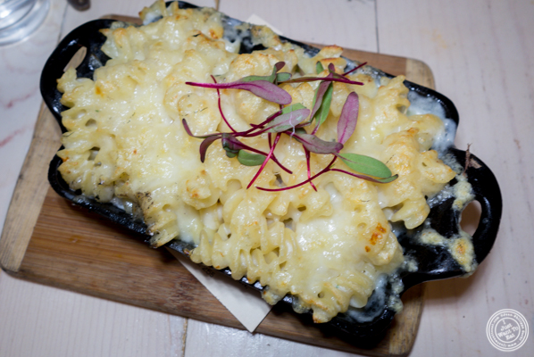 Oven baked Mac and cheese at The Marshall in Hell's Kitchen