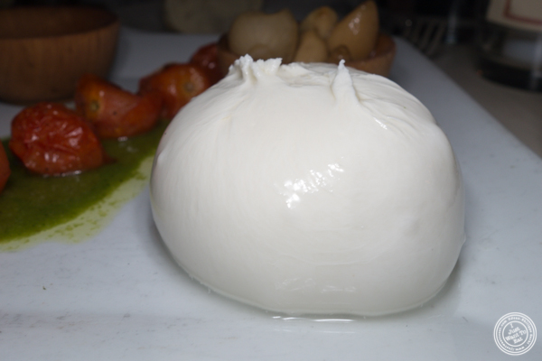 Burrata at The Marshall in Hell's Kitchen