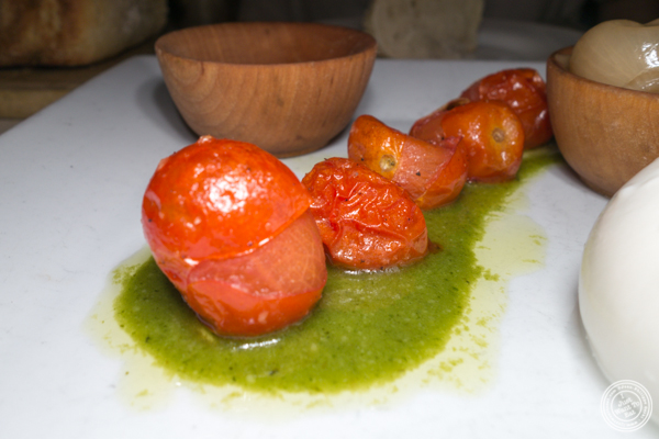 Roasted tomatoes at The Marshall in Hell's Kitchen