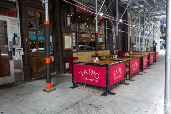 Tappo Thin Crust Pizza in NYC, NY