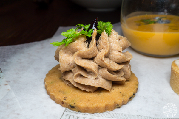 Pork rillette at The Musket Room in NYC