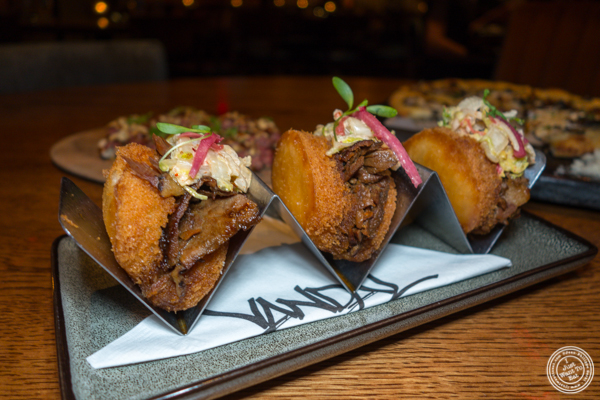 Crispy bao buns at Vandal in the Lower East Side
