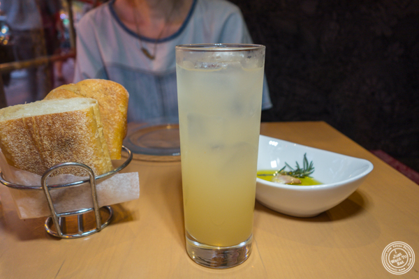 Grapefruit and cinnamon soda at Jaleo in Washington DC
