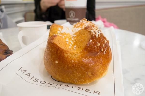 Brioche au sucre at Maison Kayser in Washington DC