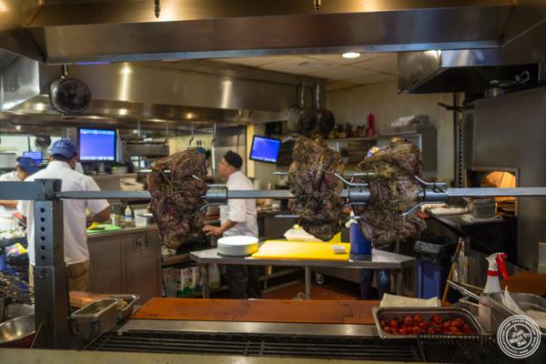 Open kitchen at Zaytinya in Washington DC