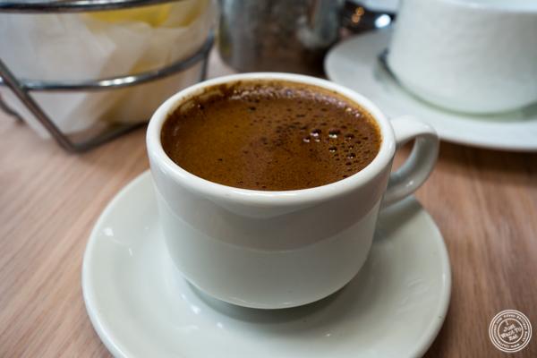 Turkish coffee at Zaytinya in Washington DC