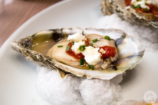 Oysters saganaki at Zaytinya in Washington DC