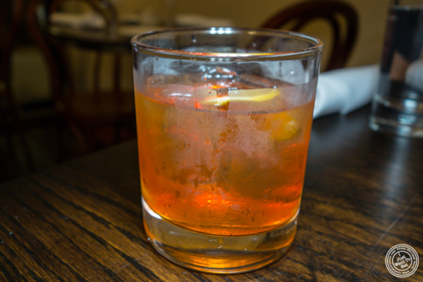 Old fashioned at Le Privé in NYC, NY