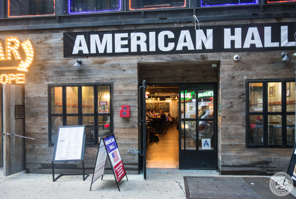 American Hall Beer and Arcade in NYC, NY