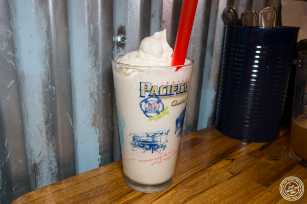 Milkshake at American Hall Beer and Arcade in NYC, NY