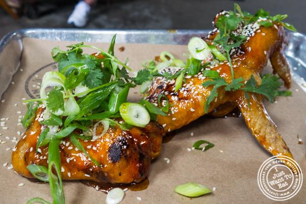 Hot Vietnamese wings at Hometown Bar-B-Que in Brooklyn