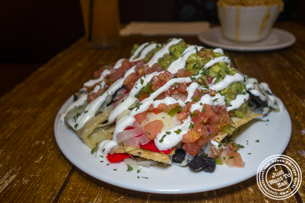 Nachos at The Freckled Moose in Astoria, Queens