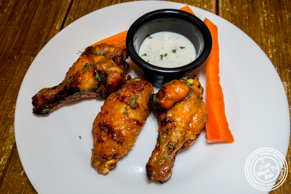 Wings at The Freckled Moose in Astoria, Queens