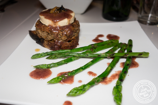 Tournedos Rossini at Delice & Sarrasin in the West Village